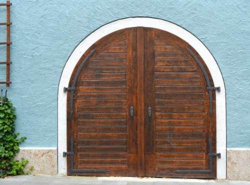 old door building exterior entrance