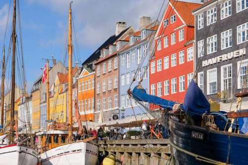 Colorful Buildings in Copenhagen