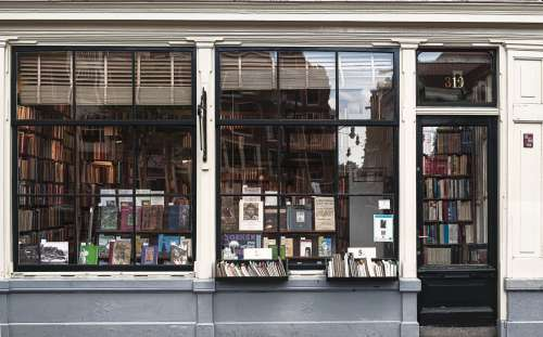 Bookstore Frontage Photo
