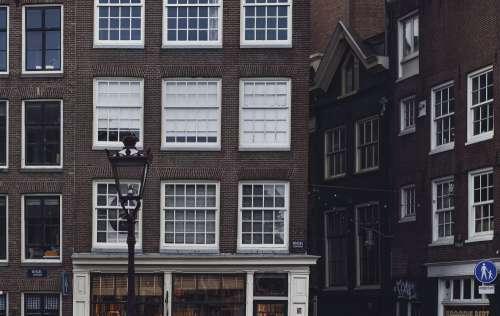 Windows In Red Brick Photo