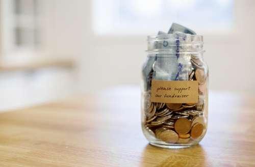 Fundraising Jar Photo