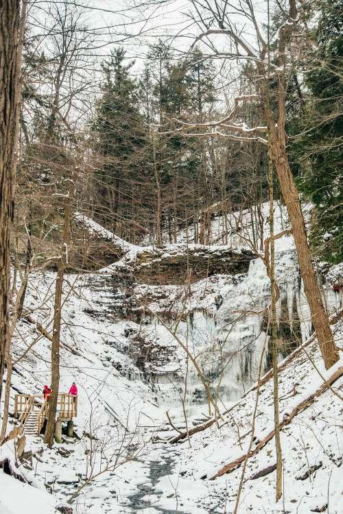 Frozen Valley Photo