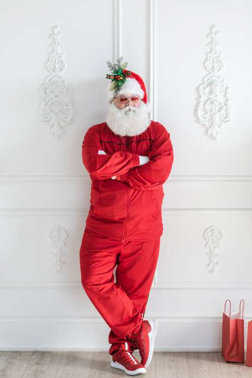 S'up Santa Photo