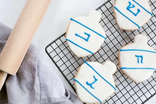 Baking for Hanukkah Photo