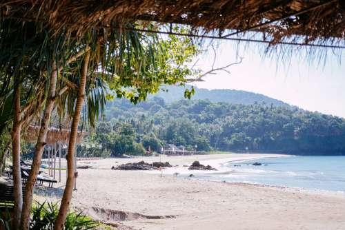 A beach tourist resort in Thailand
