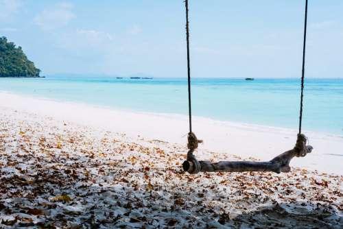A sandy beach in Thailand 3