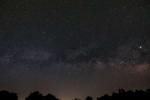 Night Starry Sky Free Photo