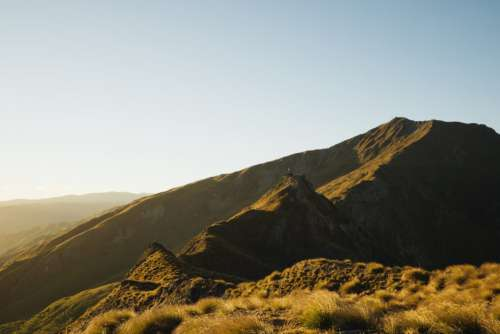Mountain Hiking Peak Free Photo
