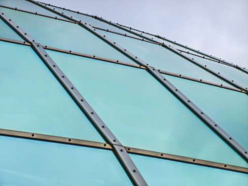 abstract building exterior roof dome