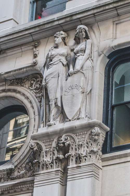 city building sculpture ornate art