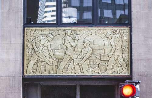 building art city sculpture artwork
