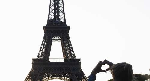 I Heart The Eiffel Tower Photo