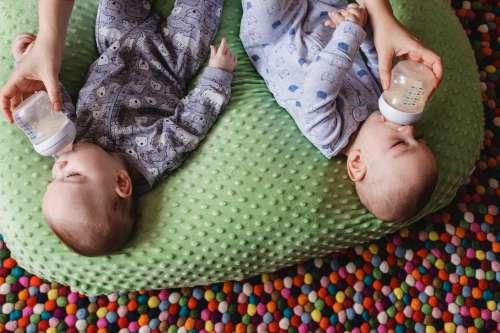 Feeding Twins Photo