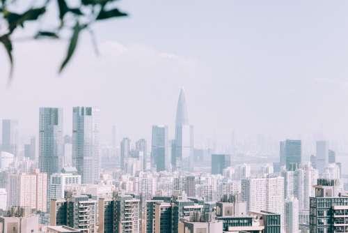 Misty Shenzhen Photo