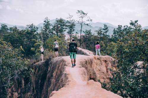 Adventure On Narrow Path Photo