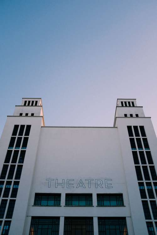White Theater Building Photo