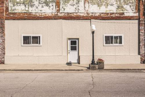 Old Building Facade Free Photo