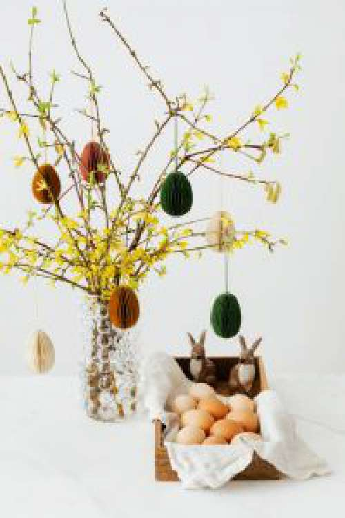 Easter with Forsythia
