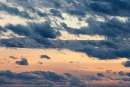 Sunset Clouds Sky Free Photo