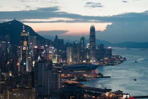 Hong Kong City Free Photo