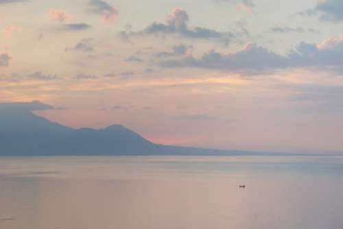 Ocean Sunset Horizon Free Photo