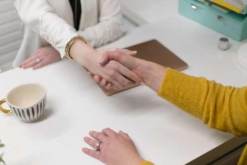 work business people deal partnership