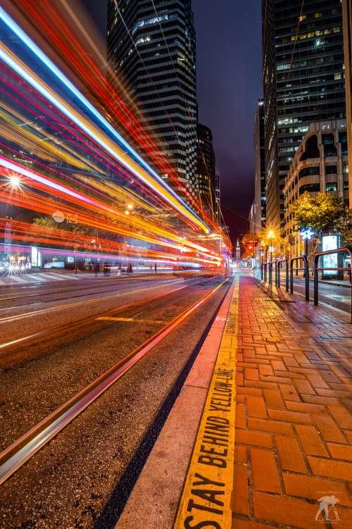 City Traffic Lights Photo