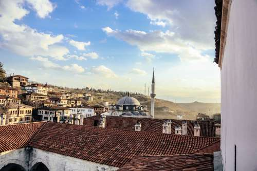 Overlooking A Town In Turkey Photo