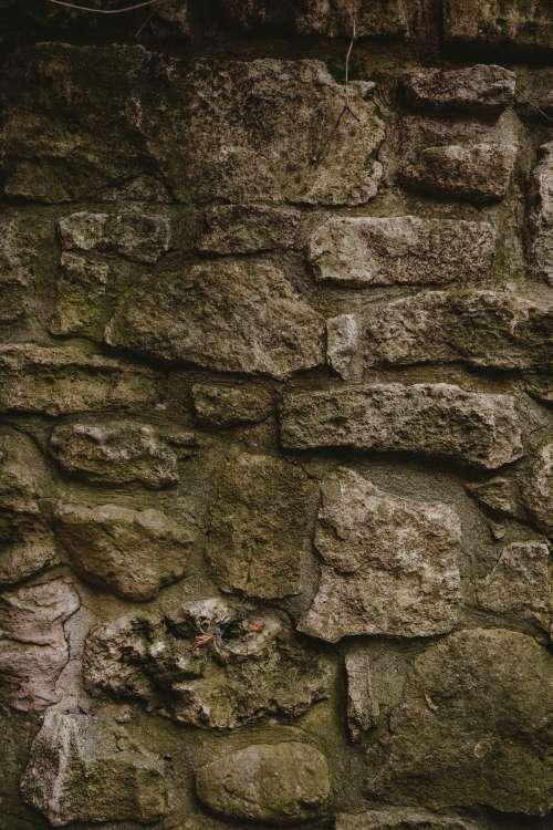 Aged Stone Wall Photo