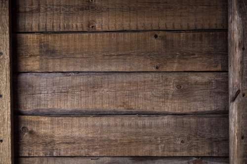 Close up of wood board texture with cross members