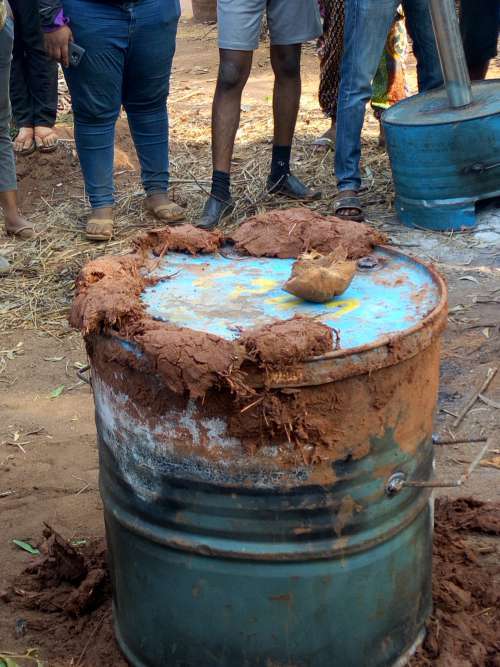 bucket, people, soil, container, mud, agriculture, farming, environment, green charcoal, agroecology, natural input, farm, field, nature, environment