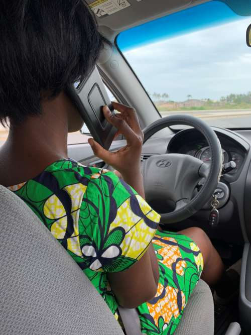 people, woman, driver, driving, phone user, road trip, steering wheel, travel, car, transport, road safety