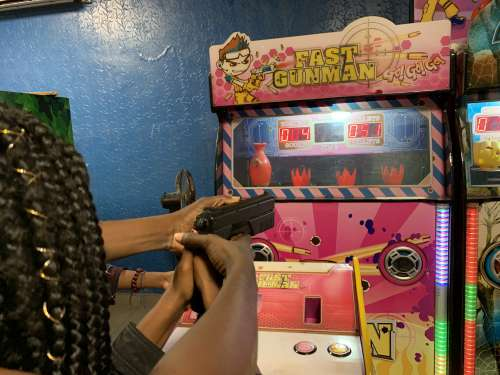 people, woman, fun, entertainment, game, play, toy