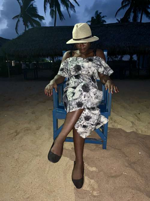 woman, people, straw hat, fashion, looking, night, sitting, class