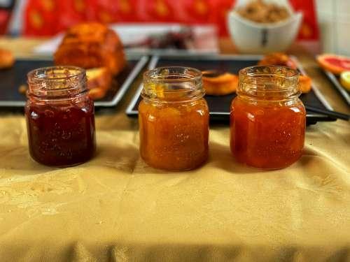 jar, jams, gelatin, homemade, food, glass, fruit, nutrition, delicious, breakfast, taste, flavor