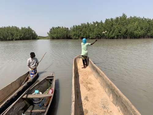 water, river, work, fisherman, lake, canoe, boat, people, fishnet, fishing rod, shellfish