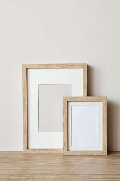 Photo mockups of frames