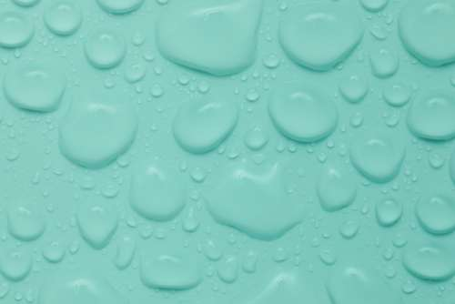 Backgrounds of coloured drops