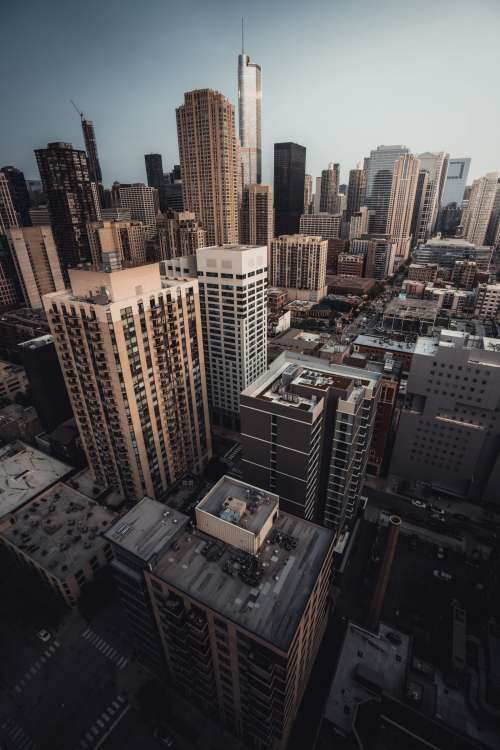 Chicago skyscrapers – Day