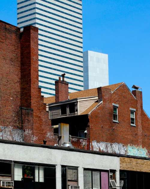 Brick Building Facade Free Photo