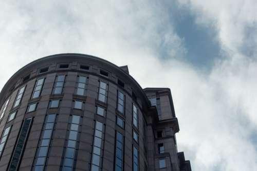 Modern Building Exterior Free Photo