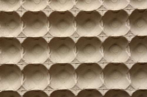 Egg carton pattern