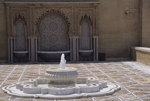 Ablution Fountain, Rabat, Morocco