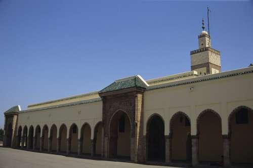 Ahl Fls (Royal Mosque), Rabat, Morocco