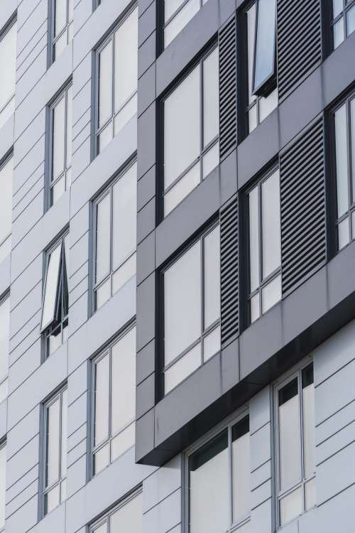 city building facade architecture structure