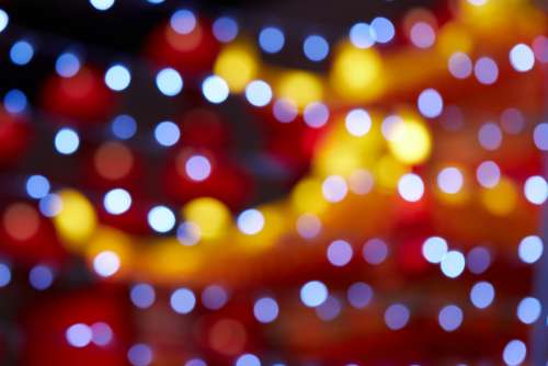 bokeh lights background abstract creative