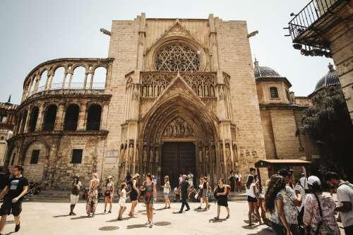Ornamental Greek Church Ruins Photo