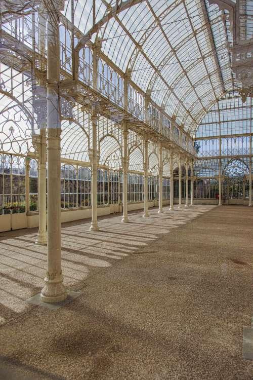 Interior View Of Crystal Palace At Giardino Dell Orticultura Photo