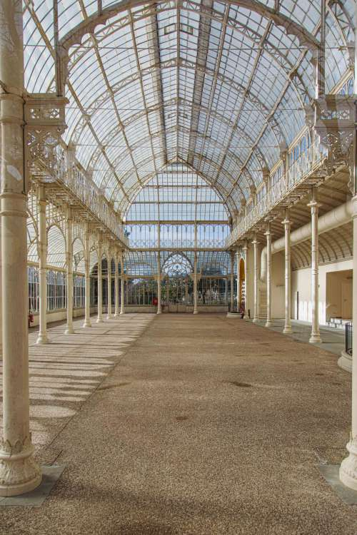 Crystal Palace At Giardino Dell Orticultura Photo