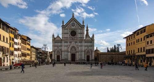 Santa Maria Della Scala Square Photo